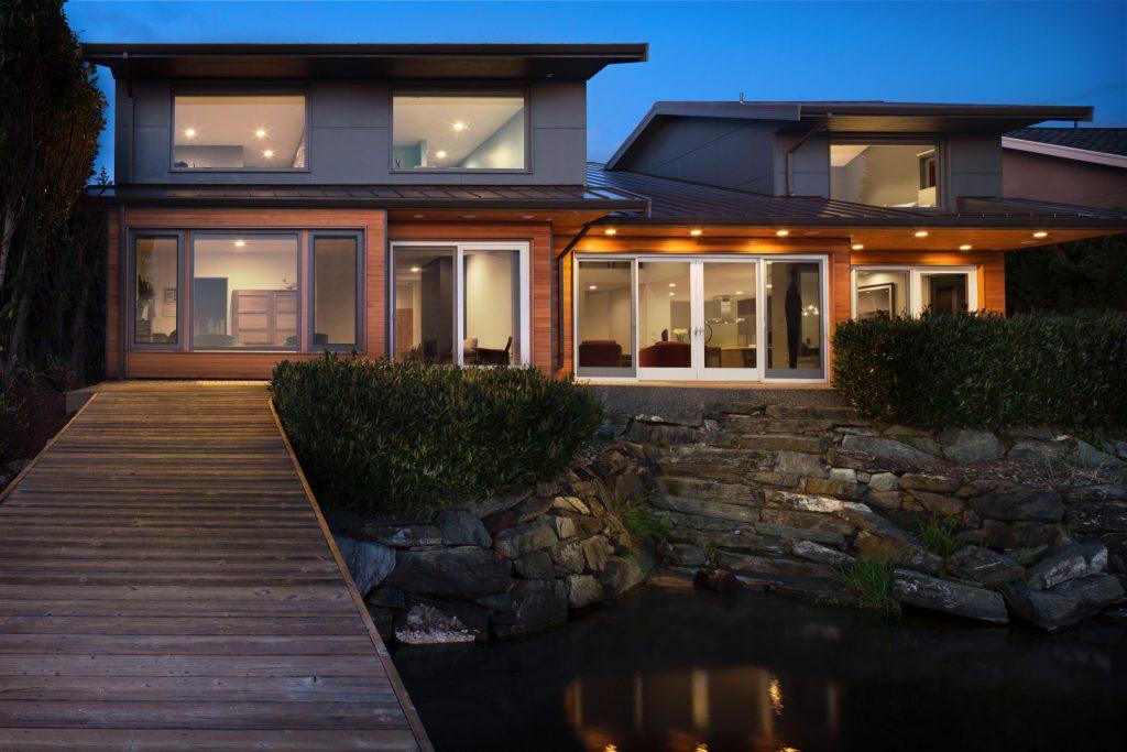 Green building custom home remodel Bellingham