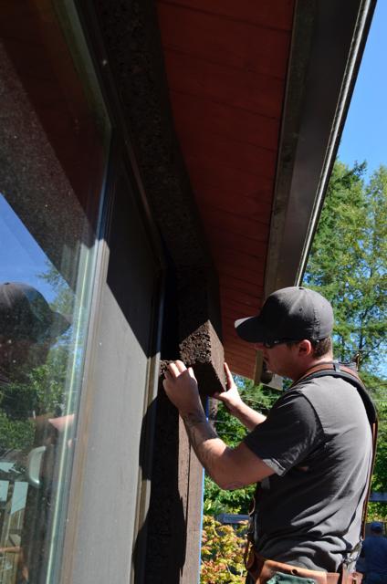 Bellingham exterior cork insulation
