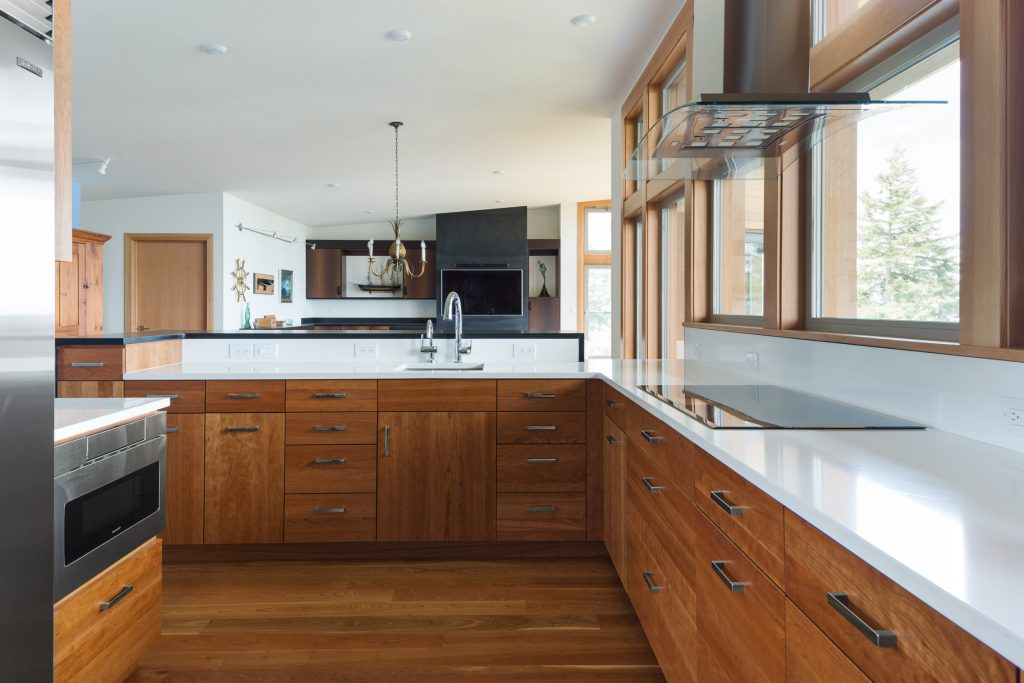 High performance home with custom kitchen