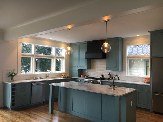 Bellingham general contractor kitchen remodel