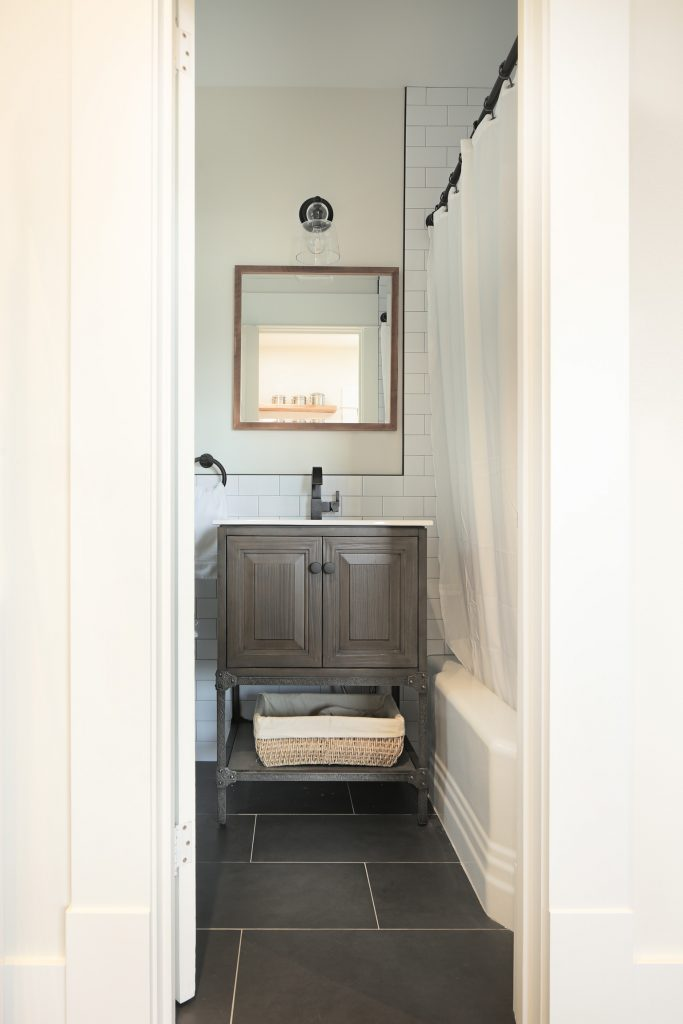 ADU compact bathroom