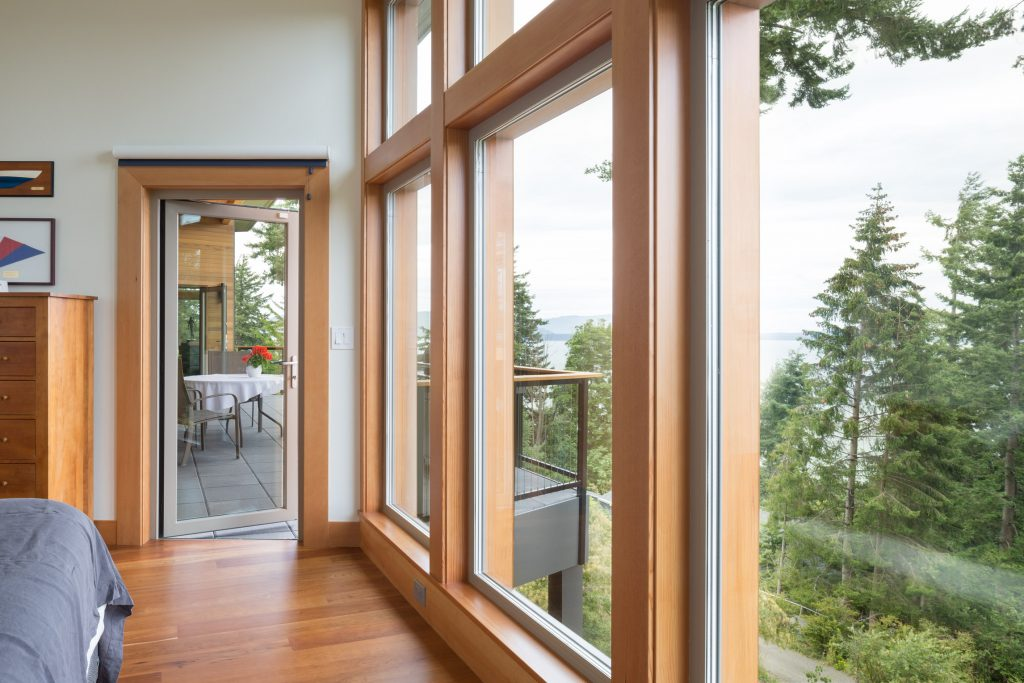 Cascadia Windows on the Bright green project
