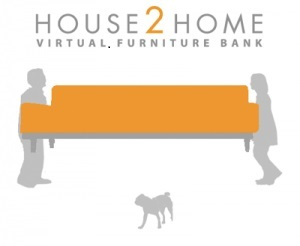 House 2 Home logo volunteer