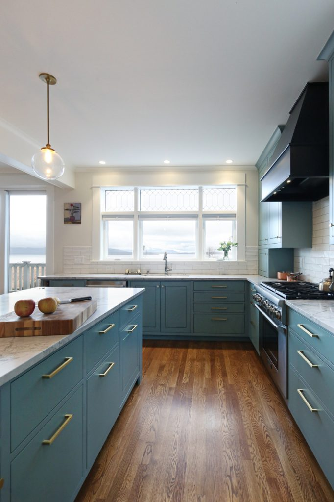 Bellingham general contractor kitchen remodel