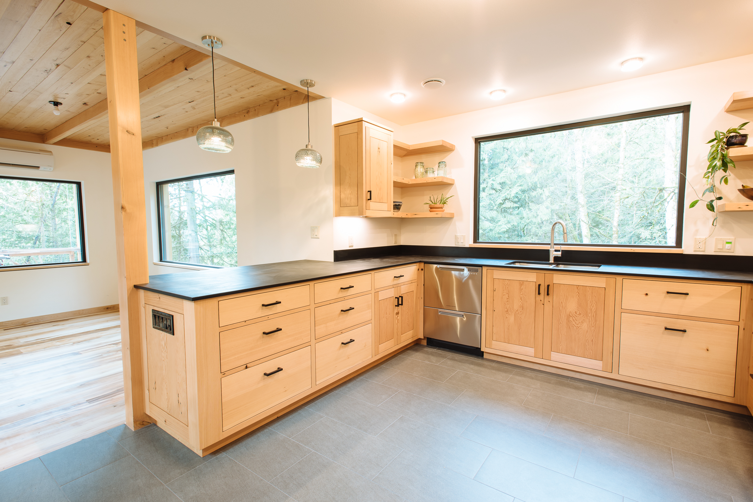 Custom kitchen cabinets Bellingham