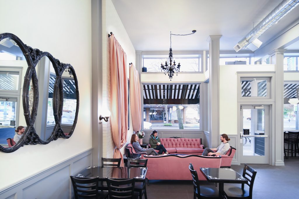 Pure Bliss Desserts Bellingham, commercial remodeling project