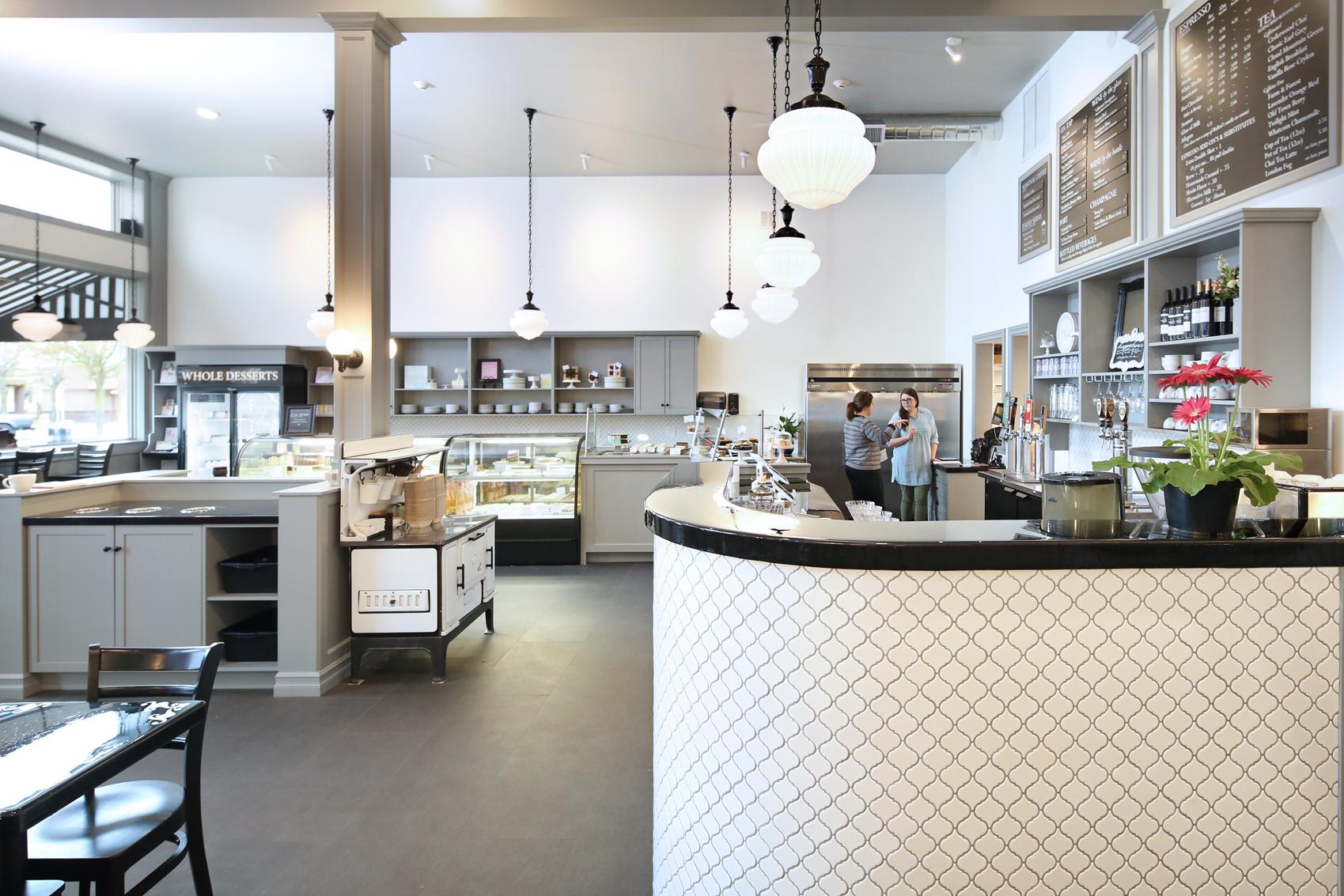 Commercial restaurant remodel Bellingham