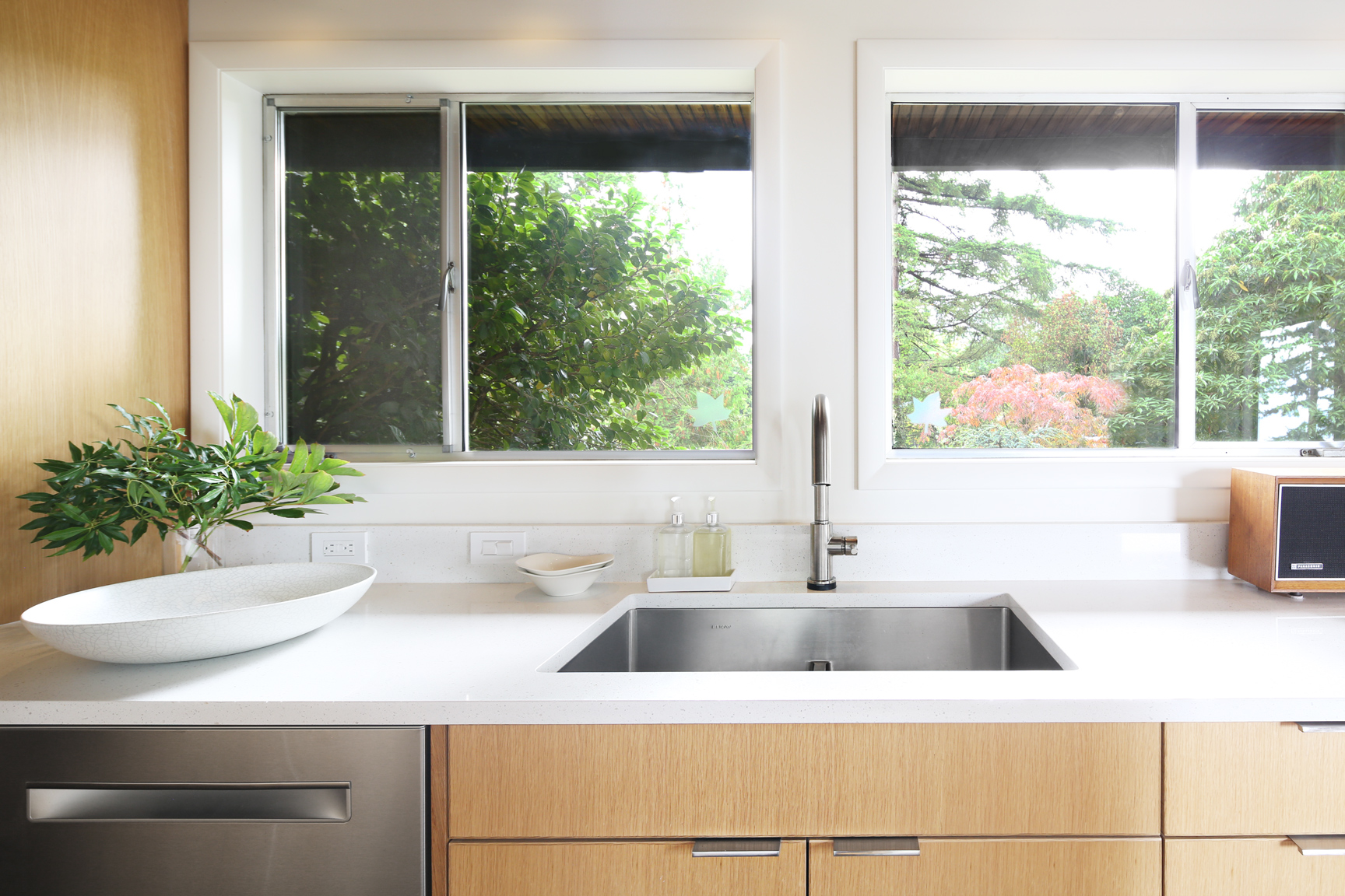 Remodeled Bellingham kitchen with Smith and Vallee cabinets
