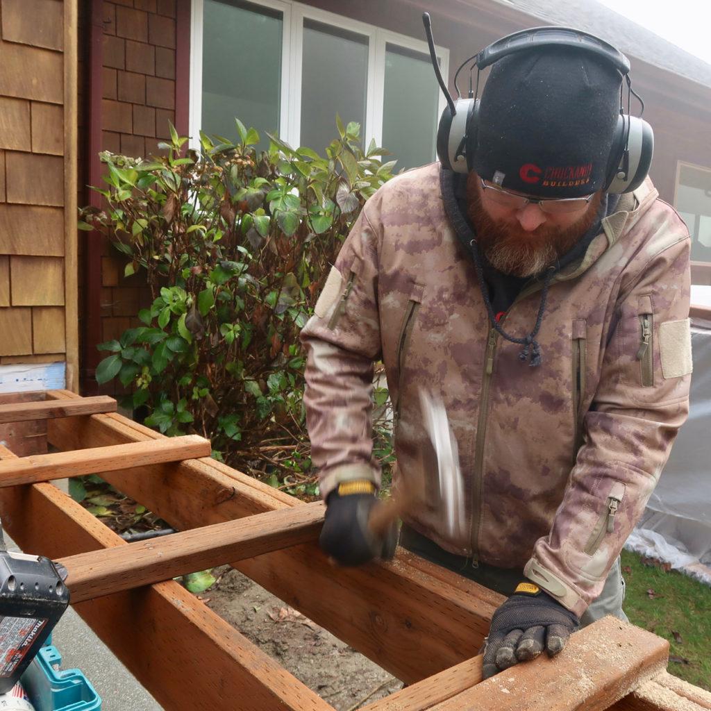 Deck contractor Bellingham